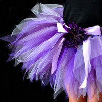 Purple & Lavender Pixie Tutu...Photography Prop, Birthday Tutu . . . PURPLE DIVA | TutuGorgeousGirl - Clothing on ArtFire