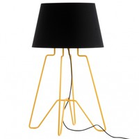 Dwarf Wired Lamp - Yellow/Black - Brighton POD - Promoting Original Design