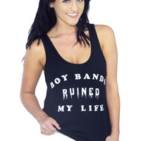 Boy Bands Ruined My Life Tank | Jawbreaking