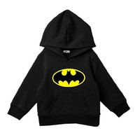 New Boy 2-10 Batman Jackets kids Character Hoodie Cartoon Outerwear Sweatershirt