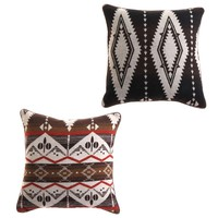 Cabin Pillow - Pattern - Throw Pillows - Linens and Pillows - Paul Michael Company
