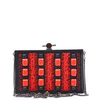 Bead embellished satin box clutch | Jason Wu | MATCHESFASHION.COM