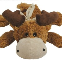 KONG Cozie Marvin the Moose, Medium Dog Toy, Brown:Amazon:Pet Supplies