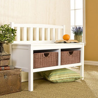 You should see this Harrison Storage Bench in White on Daily Sales!