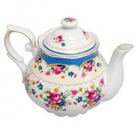 Regency Rose Teapot | DotComGiftShop