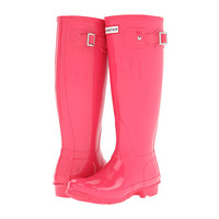 Hunter Original High Gloss Crimson Pink - Zappos.com Free Shipping BOTH Ways