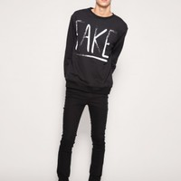 Fake sweatshirt by Youreyeslie.comid Online store> Shop the collection