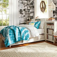 Beadboard Storage Bed + Medium Tower Set