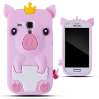 Zooky® rosa silicone maiale COVER / CASE / CUSTODIA per Samsung Galaxy S3 MINI (I8190):Amazon:Elettronica