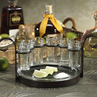 Zodax Fiesta Shot Tequila Glass (Set of 6)