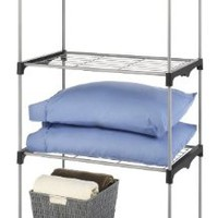 Whitmor 6779-4414, Closet Organizer Collection 4 Tier Shelves