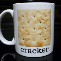 Coffee Mug  Cracker Coffee Mug  Custom Coffee by CreateItYourWay