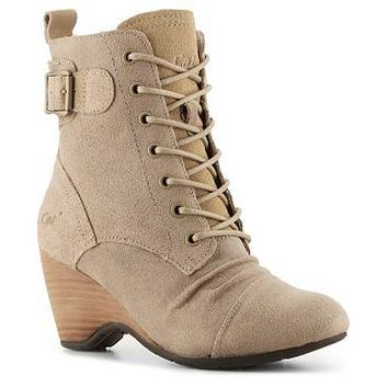 Caterpillar Cleo Wedge Bootie