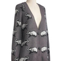 The Artful Badger Cardigan | Mod Retro Vintage Sweaters | ModCloth.com