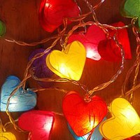 Hearts And Stars String Lights