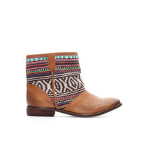 ETHNIC LEATHER ANKLE BOOT - Boots and ankle boots - Shoes - TRF | ZARA United States