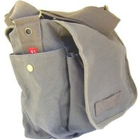 GT Heavyweight Canvas Messenger Bag - (Black or Olive)