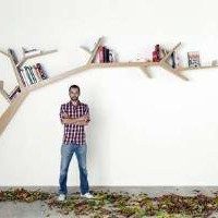 olivier dolle book shelf Photos 1 - Branching Paperback Perches pictures, photos, images