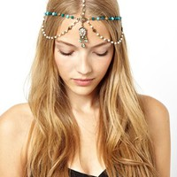 ASOS Beaded Hair Crown at asos.com
