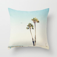 Beach Love  Throw Pillow by Bree Madden