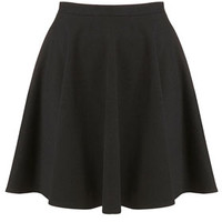 Black Milano Skater Skirt - Skirts  - Clothing