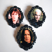 Black Hearted Bastard Brooch