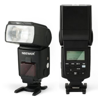 NEEWER® NW680/TT680 Speedlite Flash E TTL Camera Flash for Canon 5D MARK 2 6D 7D 70D 60D 50D T5I T3 T3I T2I SL1 AND All other CANON DSLR Cameras