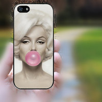 iphone 5s case,iphone 5 case,iphone 5c case,iphone 5s cases,iphone 5 cases,iphone 5c case,cute iphone 5s case--Marilyn Monroe,in plastic.