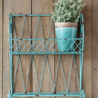Aqua Wall Shelf - Wall - Home Decor - Paul Michael Company