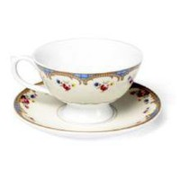 Regency Cup and Saucer - Roses - Regency Inspired Range - 6.99 - The Contemporary Home Online Shop