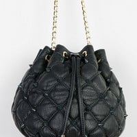 Deux Lux Empress Studded Bucket Bag