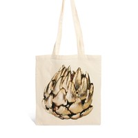 Borders & Frontiers Gilded Artichoke Shopper Bag at asos.com