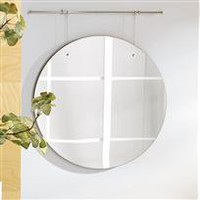 suspend mirror - a modern, contemporary mirror from chiasso