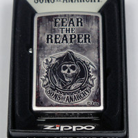 Sons of Anarchy Zippo Lighter - Fear Reaper