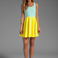BLAQUE LABEL Dress in Blue/Yellow from REVOLVEclothing.com