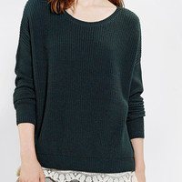 Pins And Needles Lace-Trim Sweater-