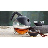 Amazon.com: Jenaer GLOBO Tetera Jena Glas Teekanne Glass Teapot Tea Pot Museum: Kitchen & Dining
