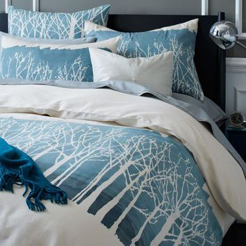 Winter Woods Duvet Cover + Shams