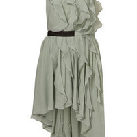 Waterfall Ruffle Dress - New In - Topshop USA