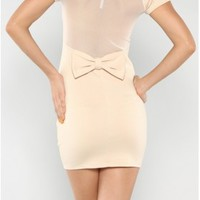 The Bow Open Back Dress