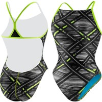 Speedo Women's Ready Zip Mesh Back Swimsuit - Dick's Sporting Goods