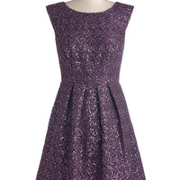Plum One Like You Dress | Mod Retro Vintage Dresses | ModCloth.com