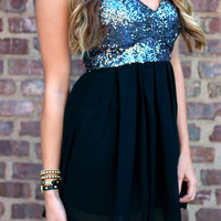 There's No Place Like Homecoming Dress - Black