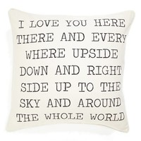 Levtex 'I Love You' Pillow | Nordstrom