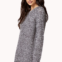 Static Print Sweater | FOREVER 21 - 2059638811