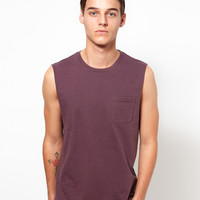 ASOS Sleeveless T-Shirt With Pocket.