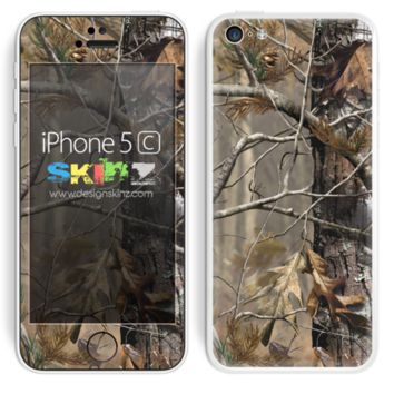 Real Camouflage V2 Skin For The iPhone 5c