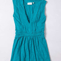 Anthropologie - Braid-Wrapped V-Neck
