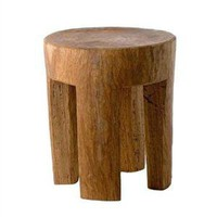 Wooden Stool Square Legs [FURSTO0007] - ?239.95 : le souk, unique living