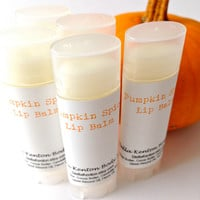 25 Pumpkin Lip Balms, Chapstick, Pumpkin Spice, Bulk Chapstick, Party Favors
